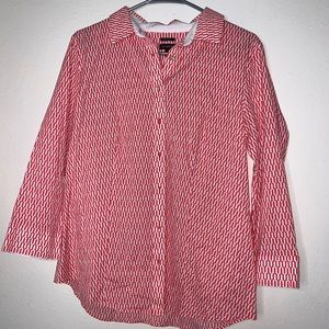 3/$20🔥Talbots button up cotton top